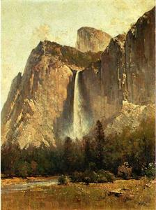 Thomas Hill - Bridal Veil Falls - Yosemite Valley
