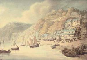 Thomas Rowlandson - Clovelly, Devon