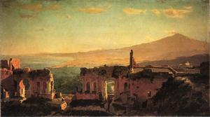 William Stanley Haseltine - Mt. Aetna from Taormina