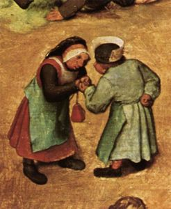 Pieter Bruegel The Elder - Children's Games (detail) (21)