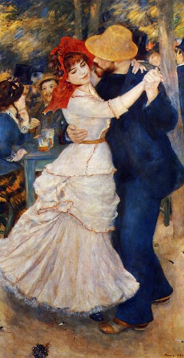 Order Reproductions | Dance at Bougival by Pierre-Auguste Renoir | AllPaintingsStore.com