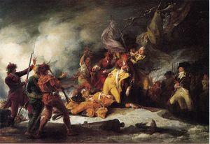 John Trumbull - The Death of General Montgomery in the Attack on Quebec, December 31, 1775