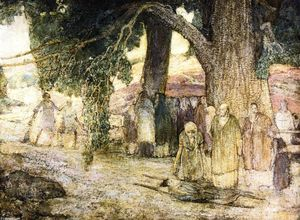 Henry Ossawa Tanner - Disciples Healing the Sick
