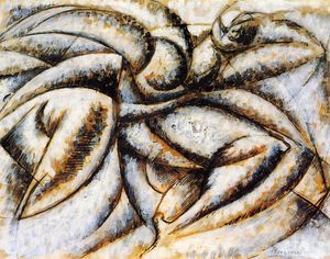 Umberto Boccioni - Dynamism of the Human Body