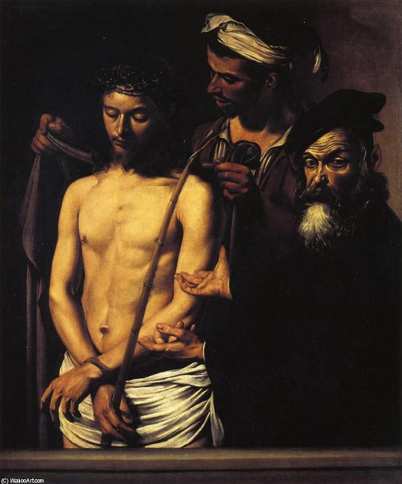 Order Paintings Reproductions | Ecce Homo by Caravaggio (Michelangelo Merisi) | AllPaintingsStore.com