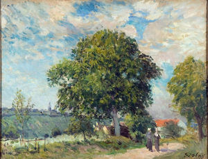 Alfred Sisley - Entrance to the Village