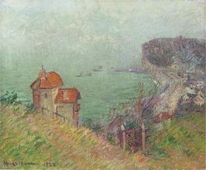 Gustave Loiseau - Fecamp - Gray Weather
