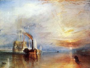 William Turner - The Fighting 'Temeraire' Tugged to Her Last Berth to be Broken Up