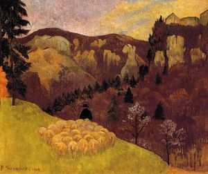 Paul Serusier - The Flock in the Black Forest