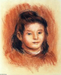 Pierre-Auguste Renoir - Girl's Head