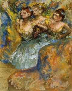 Edgar Degas - Group of Dancers