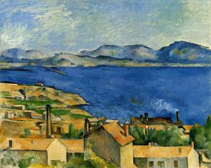 Paul Cezanne - The Gulf of Marseille Seen from L'Estaque