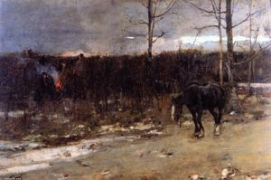 James Guthrie - Gypsy Fires are Burning for Daylight's Past and Gone
