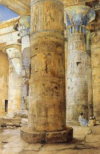 Henry Roderick Newman - Hall of Columns, Philae