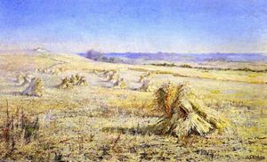 Jane Sutherland - The Harvest Field