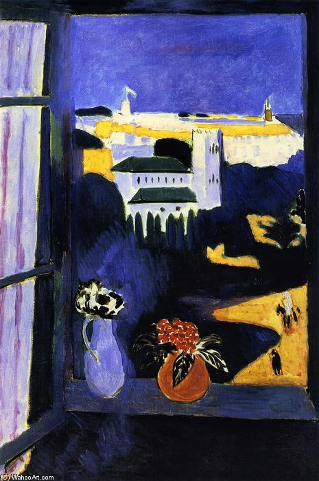 famous painting Landscape viewed from a Window of Henri Matisse