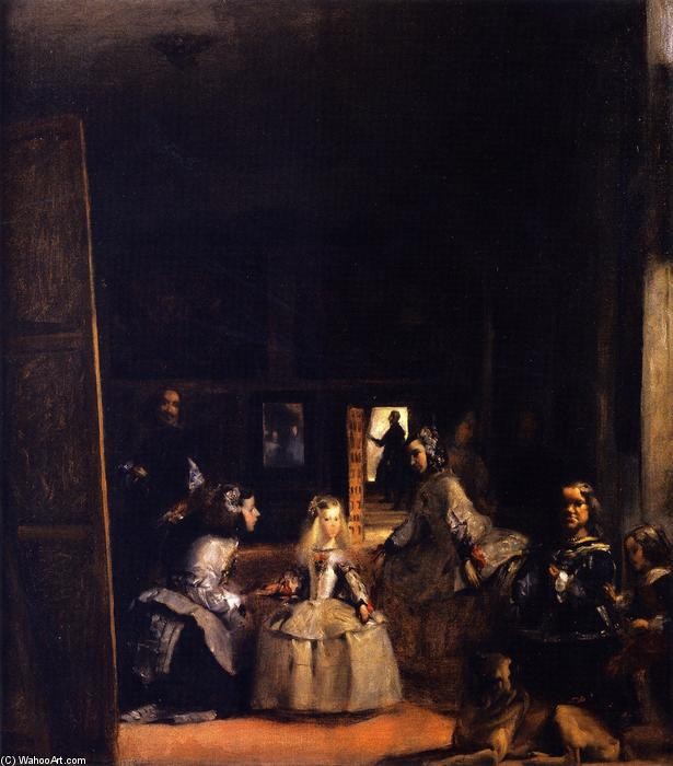 Order Art Reproduction : Las Meninas (after Velazquez) by John Singer Sargent | AllPaintingsStore.com