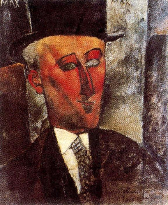 famous painting Max Jacob of Amedeo Modigliani