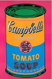 Andy Warhol - Campbells Soup Pink