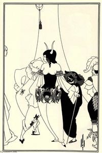 Aubrey Vincent Beardsley - The Mask of the Red Death