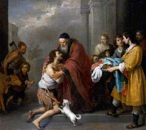 Bartolome Esteban Murillo - Return of the Prodigal Son