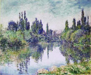 Claude Monet - Morning on the Seine, near Vetheuil