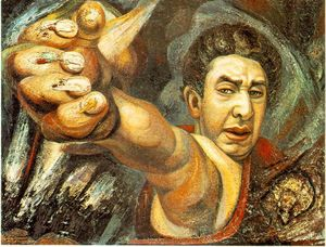 David Alfaro Siqueiros - Self-Portrait