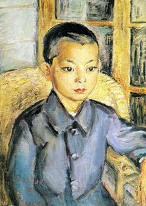 David Davidovich Burliuk - Japanese Boy
