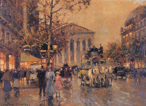 Edouard Cortes - The Rue Royal Madeleine