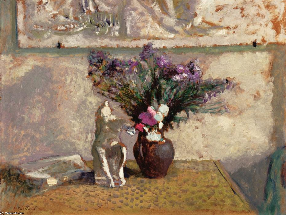 famous painting Still Life with Leda of Jean Edouard Vuillard