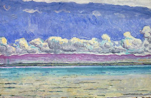 Ferdinand Hodler - The Lake