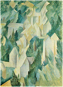 Georges Braque - The Castle in La Roche Guyon