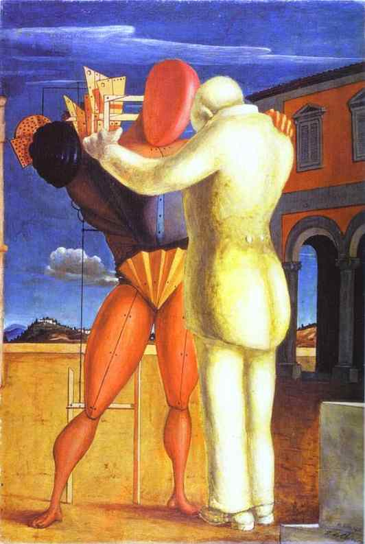 famous painting The Prodigal Son of Giorgio De Chirico