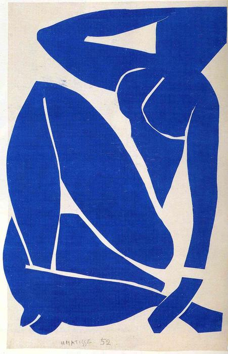 famous painting Blue Nude of Henri Matisse