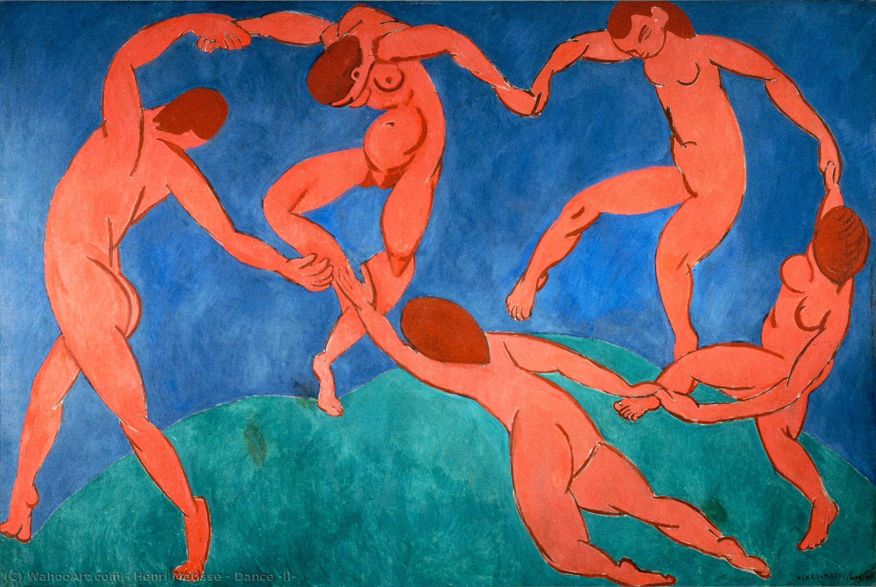 famous painting Dance (II) of Henri Matisse