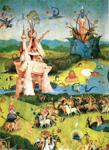 Hieronymus Bosch - The Garden of Earthly Delights (detail) (35)