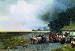 Ivan Aivazovsky - Wedding in Ukraine