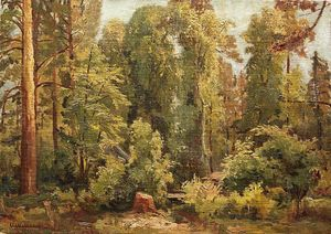 Ivan Ivanovich Shishkin - In the forest