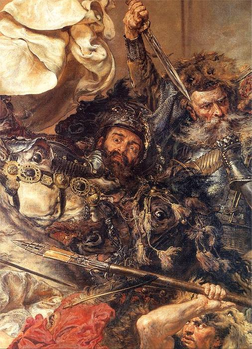 famous painting Battle of Grunwald (detail) (10) of Jan Matejko