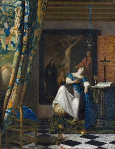Jan Vermeer - Allegory on Faith