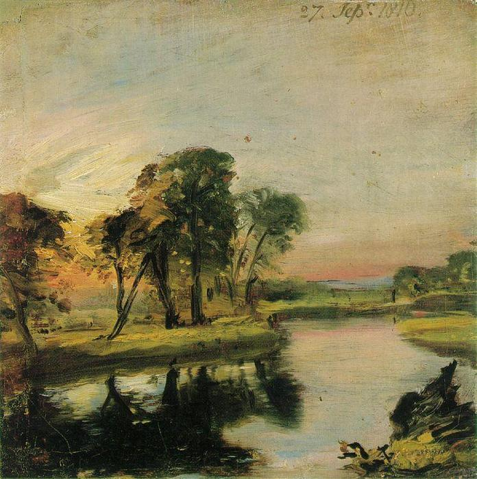 famous painting View on the Stour of John Constable