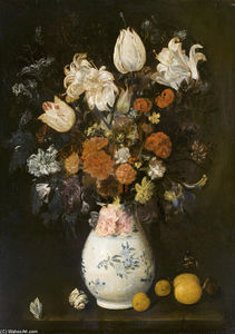 Judith Leyster - Flowers in a vase