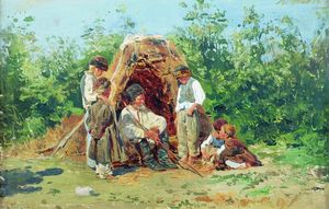 Konstantin Yegorovich Makovsky - Grandfather Stories