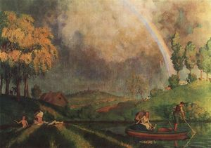 Konstantin Somov - In the Summer