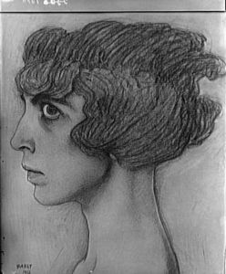 Leon Bakst - Portrait of the Marchesa Casati