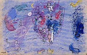 Marc Chagall - Paradise (8)