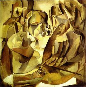 Marcel Duchamp - Portrait of Chess Players