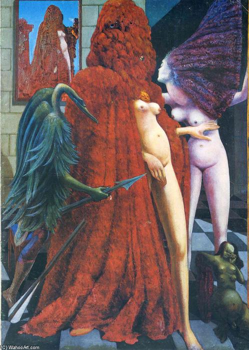 famous painting The Robing of the Bride of Max Ernst