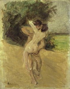 Max Liebermann - Love scene