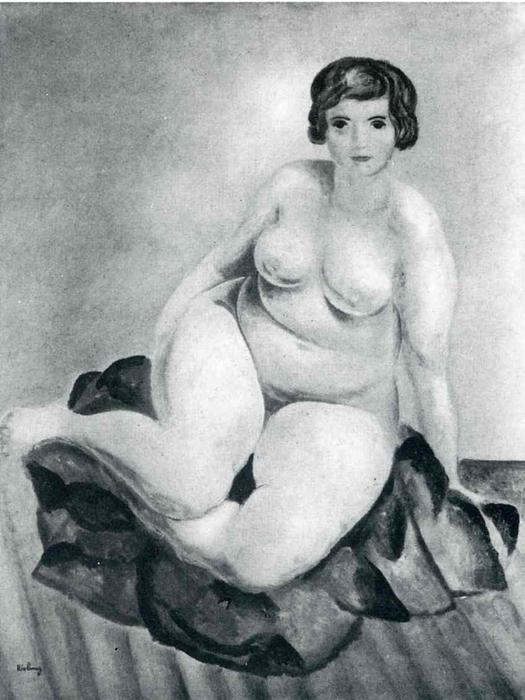 famous painting not identified (38) of Moise Kisling